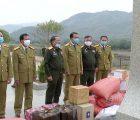 Đoàn công tác Công an tỉnh thăm, chúc tết và tặng quà các Đồn Biên phòng và Công an 2 huyện Sốp Cộp và Sông Mã tỉnh Sơn La