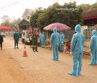 Diễn tập phòng, chống dịch COVID-19 tại xã Chiềng Đen