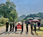 Hội phụ nữ khối ANND thăm, tặng quà các chốt phòng chống dịch Covid-19 trên tuyến biên giới