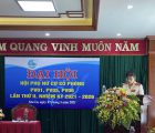 Hội phụ nữ cơ sở Phòng PV01, PV05, PV06 Công an tỉnh Sơn La tổ chức Đại hội lần thứ II, nhiệm kỳ 2021-2026