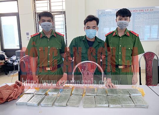 Công an Sơn La liên tiếp phá các chuyên án lớn về ma túy