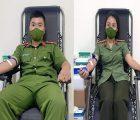 Cán bộ, chiến sỹ Công an Sơn La hiến máu cứu bệnh nhân cấp cứu qua cơn nguy kịch