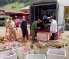 Công an Sơn La phát hiện, thu giữ trên 1 tấn sản phẩm động vật không rõ nguồn gốc
