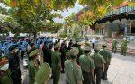 Rút 50% quân số các lực lượng Công an và y tế tăng cường phòng chống dịch Covid-19 tại huyện Phù Yên
