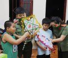 Công an tỉnh Sơn La tổ chức Tết trung thu 2021 cho các cháu thiếu nhi