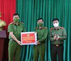 Giám đốc Công an tỉnh Sơn La kiểm tra các mặt công tác tại xã Chiềng Tương, huyện Yên Châu